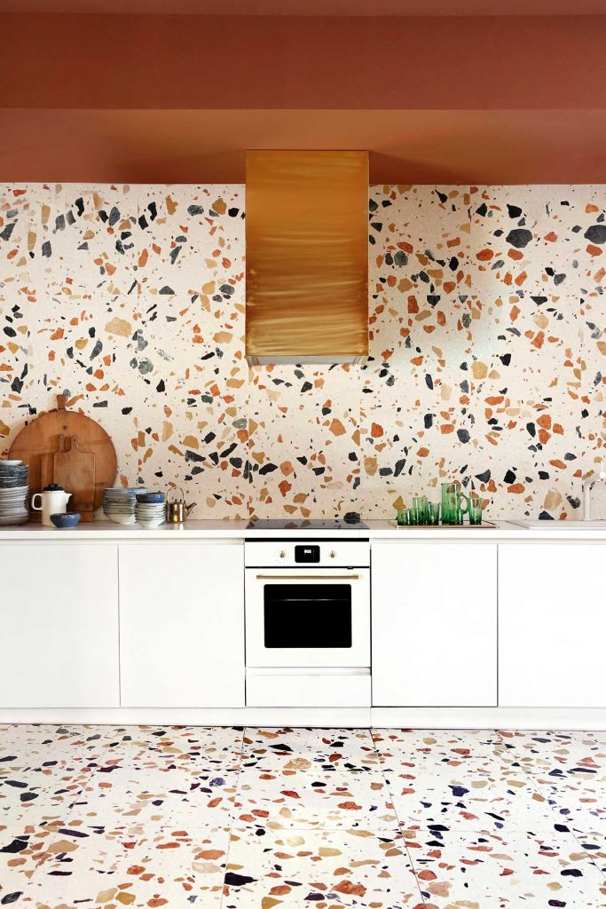 Kitchen for a Madrid Creative Space Max Lamb Marmoreal Yellowtrace 29