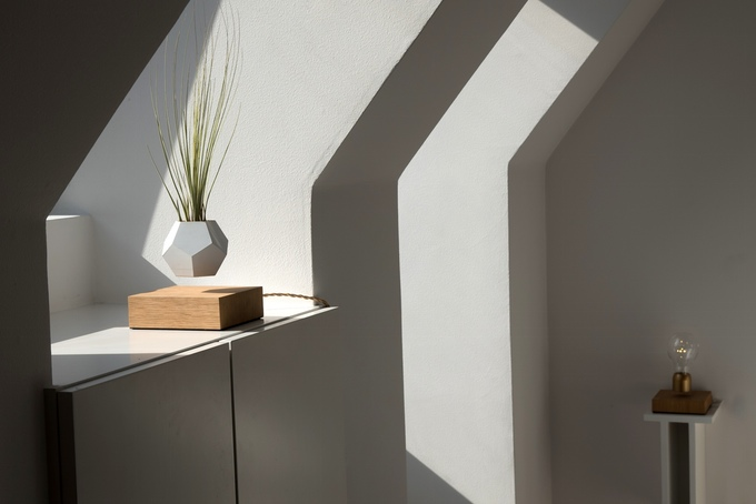 LYFE Levitating Geometric Planters By Flyte 04