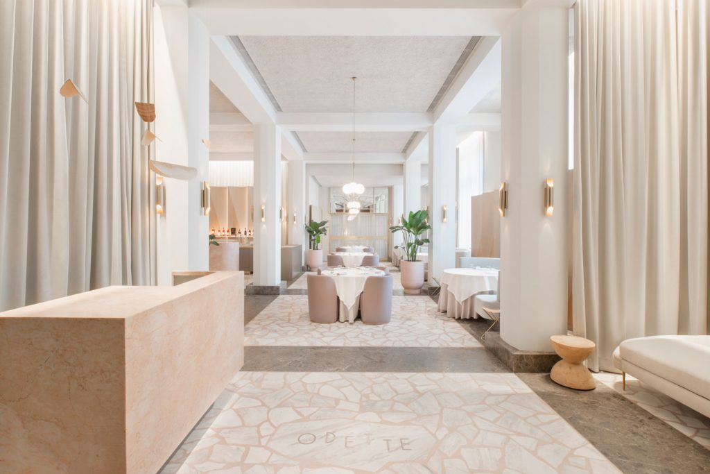 Odette Restaurant Singapore by Universal Design Studio Yellowtrace 13