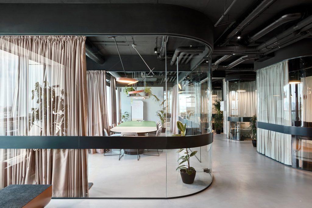Catena Media Office in Belgrade Serbia by AUTORI Yellowtrace 01