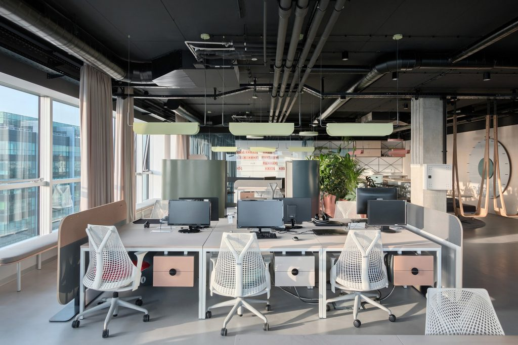 Catena Media Office in Belgrade Serbia by AUTORI Yellowtrace 22