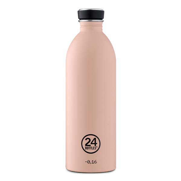 butilka nerajdaema stomana Dusty Pink 24bottles