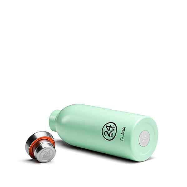 24bottles thermal stainless steel clima bottle 500 ml aqua green thermos bottles