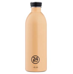 butilka nerajdaema stomana ednostenna peach orange 1000 ml 1 24bottles.jpg