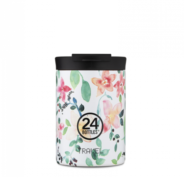chasha termo 350 ml travel tumblr floralna cvetna little buds 24bottles 1.png