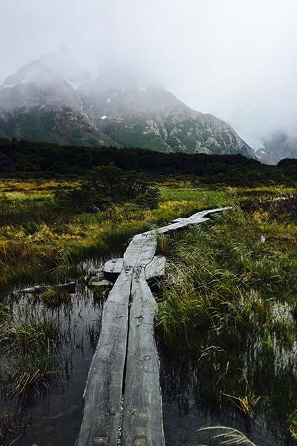 Valle Frances Patagonia treck