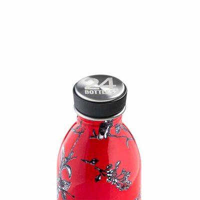 butilka nerajdaema stomana 500 ml Cherry Lace1 24bottles