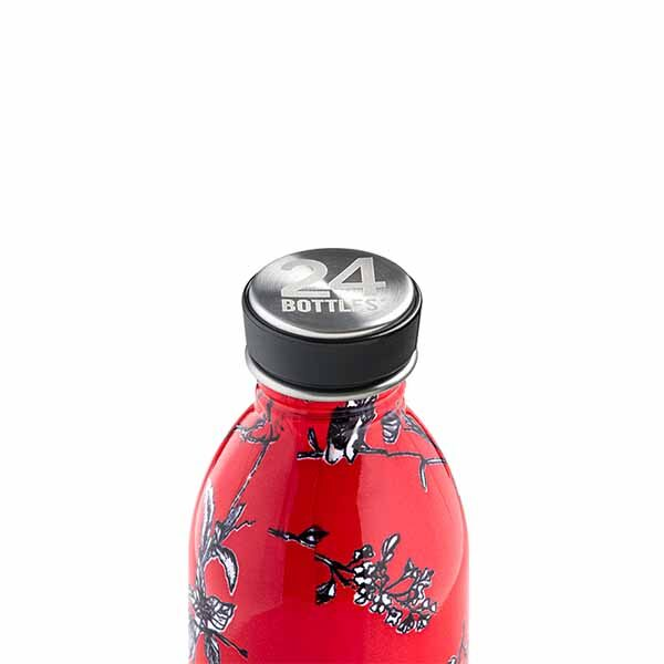 butilka nerajdaema stomana 500 ml Cherry Lace1 24bottles