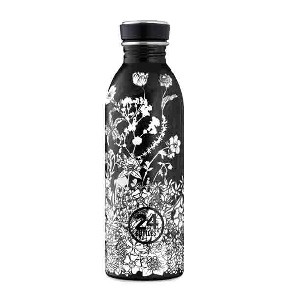 butilka nerajdaema stomana 500 ml Noir 24bottles