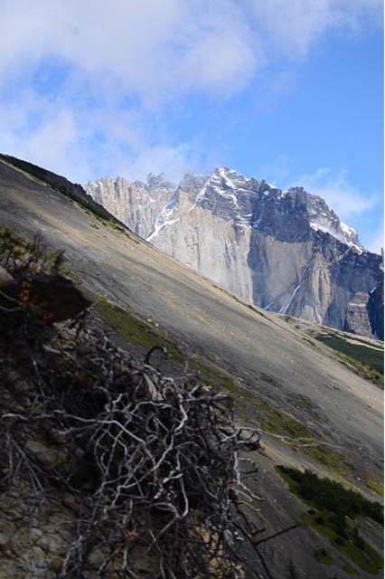 Patagonia las torres route