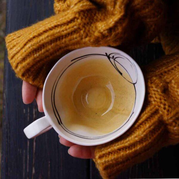Porcelanova chasha za chai i kafe 250ml