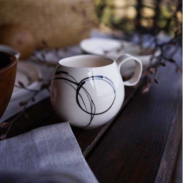 Porcelanova chasha za kafe 300ml