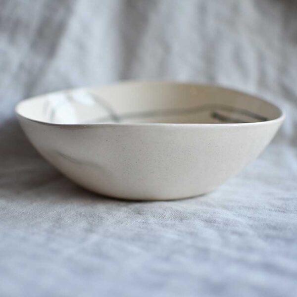 Porcelanova kupa grafichna circle1 400 ml