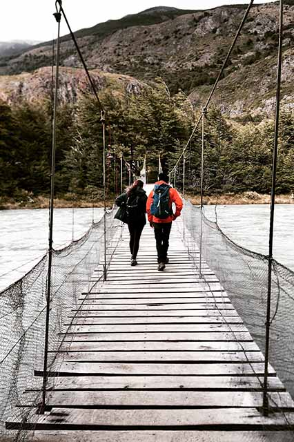 bridge patagonia torres del paine