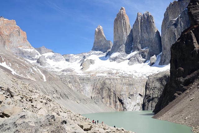 patagonia las torres torres del paine