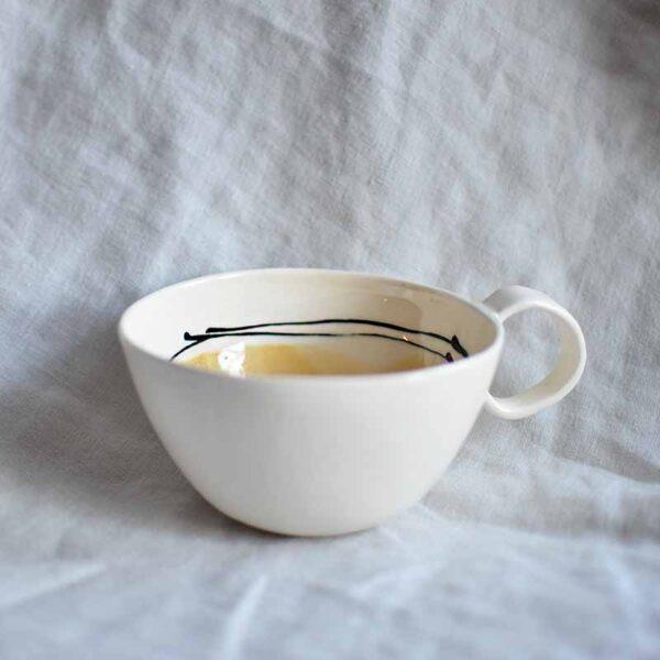 porcelanova chasha vaza cvetna rachna izrabotka2