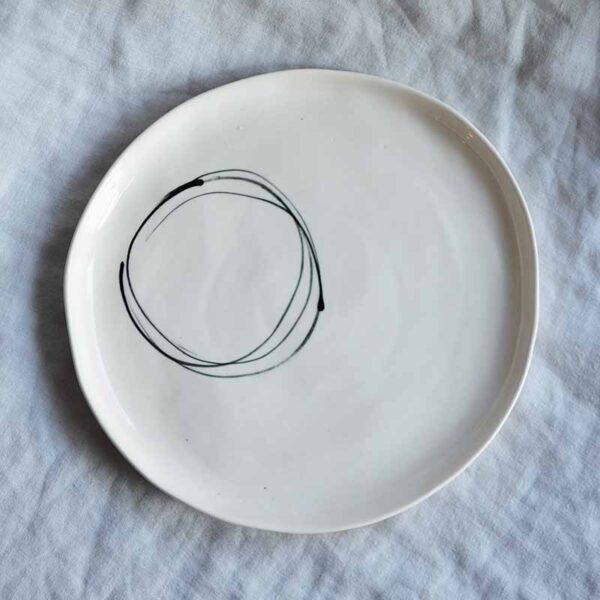 porcelanova chinia grafichna5 ploska rachna izrabotka
