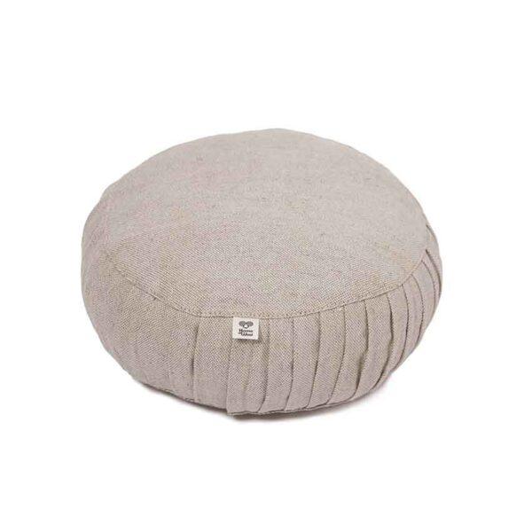 Meditation pillow wool filling round