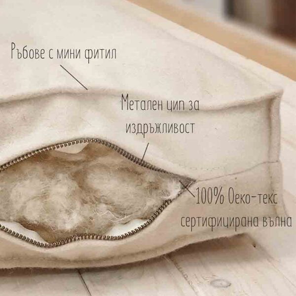 all natural rolled up shikibuton mattress with straps