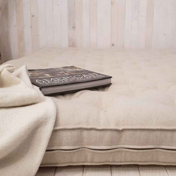 all natural rolled up shikibuton mattress with straps1