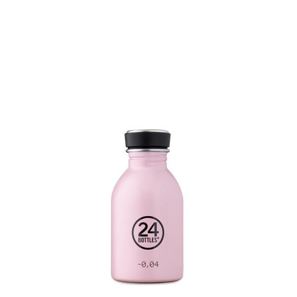 butilka nerajdaema stomana 250 ml Candy Pink 24bottles