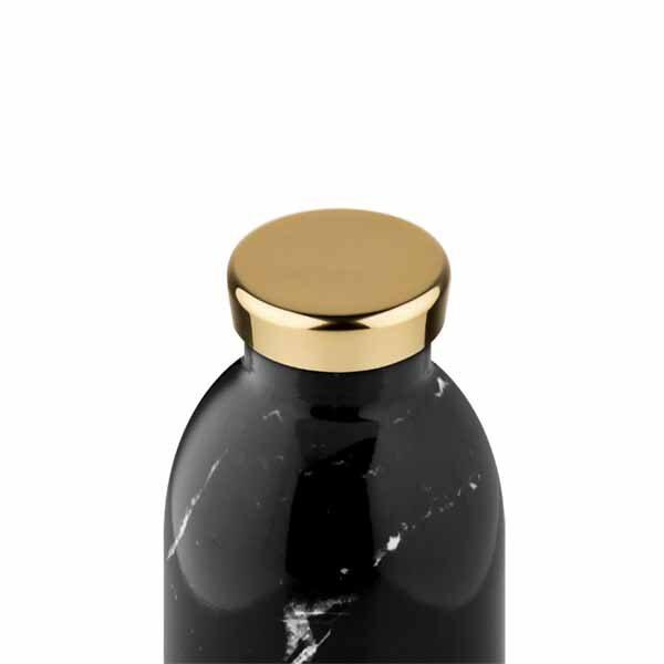 butilka nerajdaema stomana termos 500 ml Black Marble1 24bottles