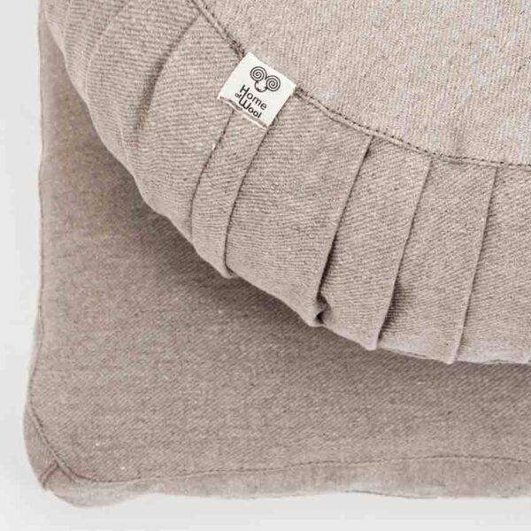 meditation pillows natural wool filling