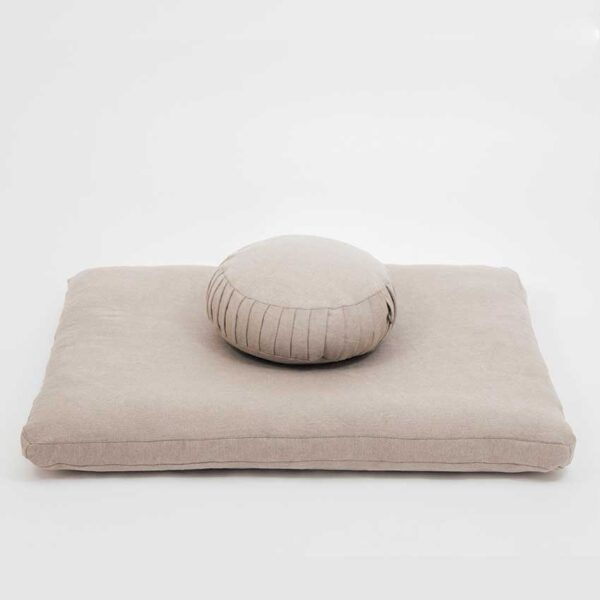 meditation wool pillow