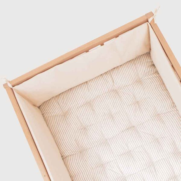 wool crib mattress with bumper