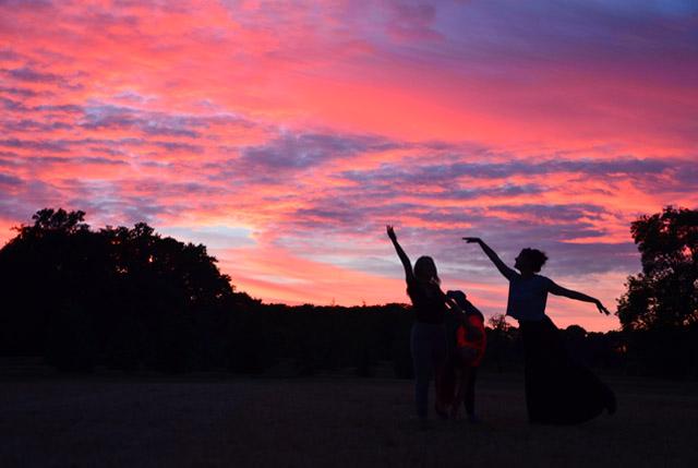Boisbuchet Sunset