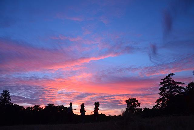 Boisbuchet sunset 01