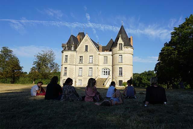 Domaine de Boisbuchet environment