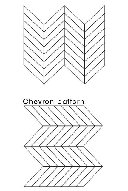 chevron pattern 01