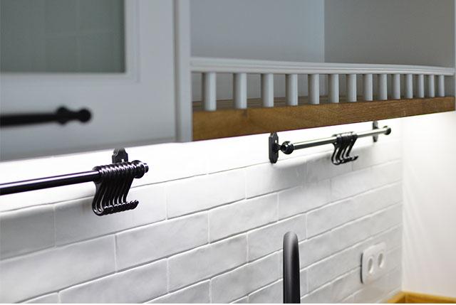 metro tiles white kitchen backsplash